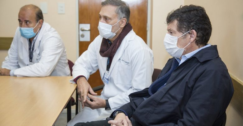 Tratan con plasma de convalecientes a pacientes con COVID-19