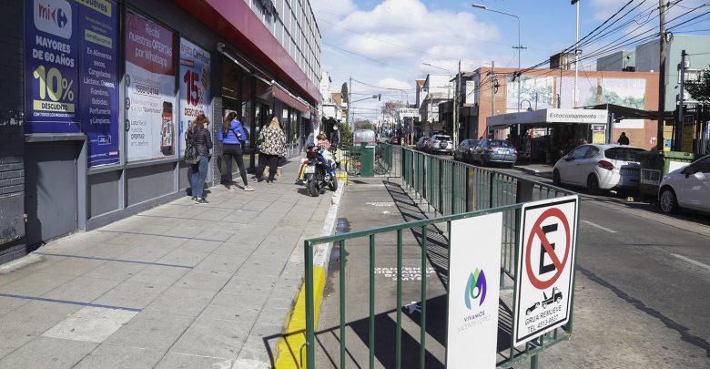 Circulación peatonal en Carapachay
