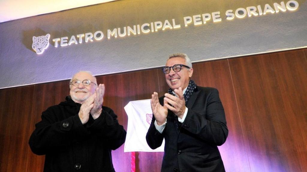 Pepe Soriano junto a Julio Zamora
