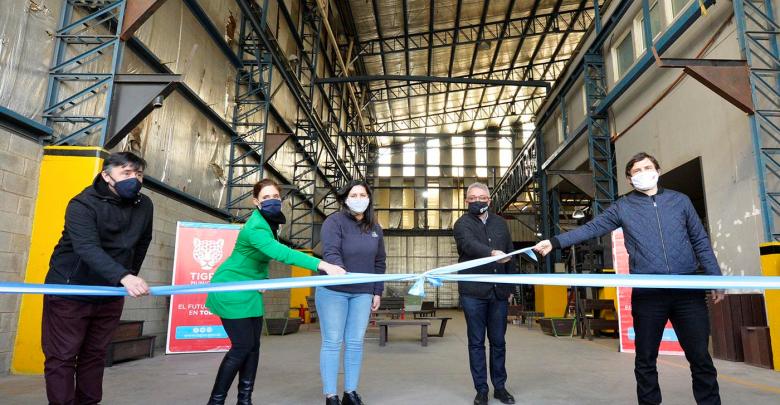 Inauguración del Polo cooperativo de Benavídez