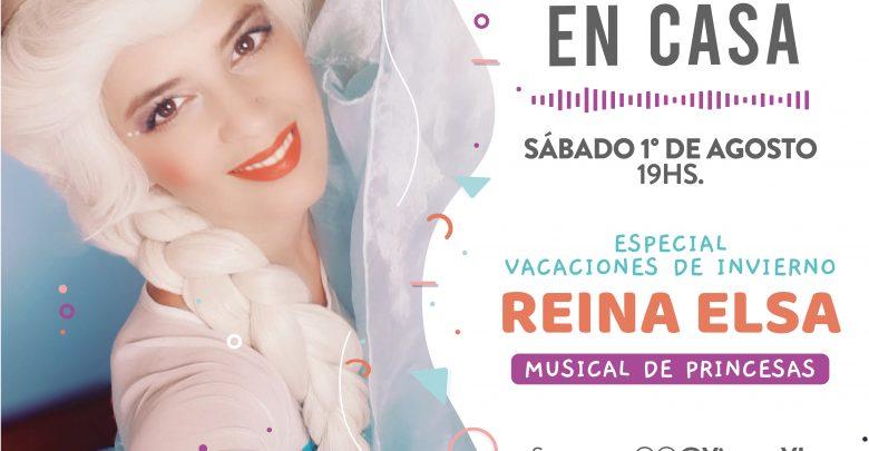 Shows en Casa - Reina Elsa