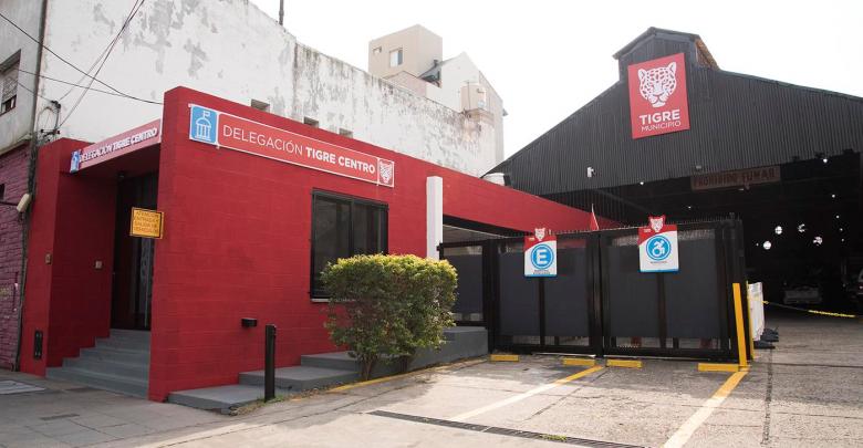 Oficinas de la Delegación Tigre centro