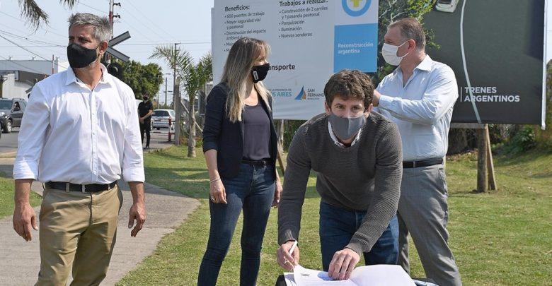 Municipalidad de San Fernando firma convenio Tunel Sobremonte