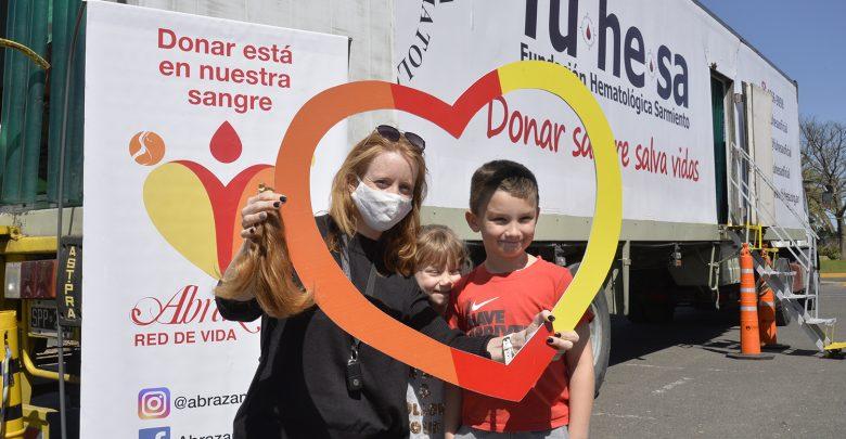 Tigre continúa promoviendo la donación de sangre en todo el distrito junto a entidades intermedias