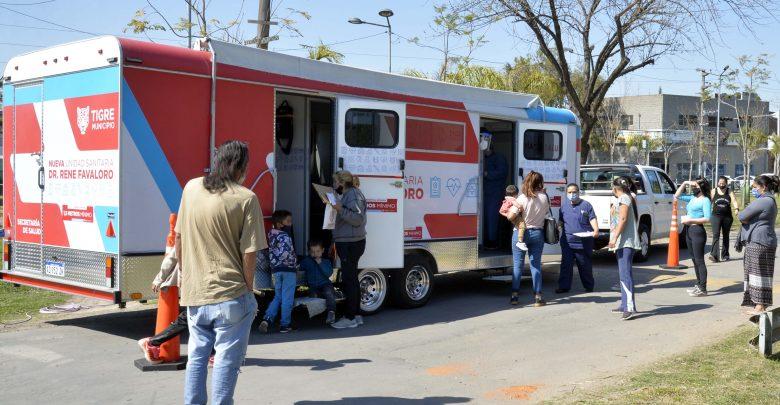 Tigre continúa acercando la salud a los barrios