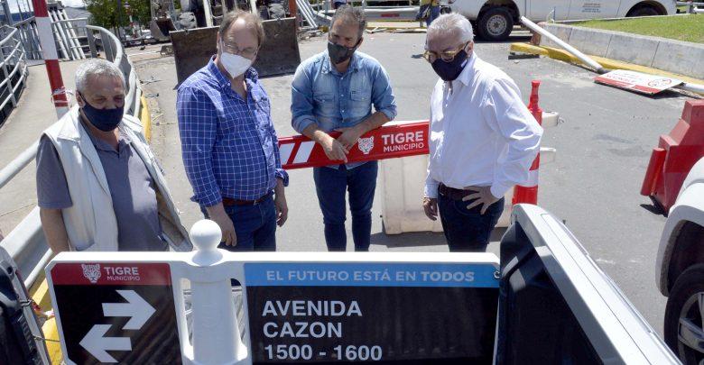 Obras de infraestructura en el Municipio de Tigre