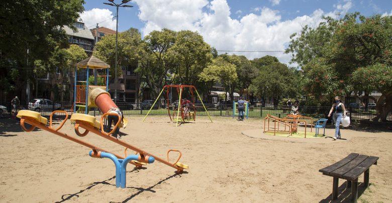 Plazas con juegos habilitados
