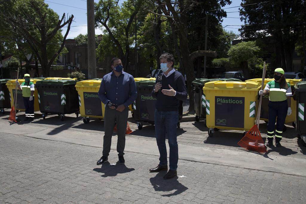 Nuevos contenedores en San Isidro