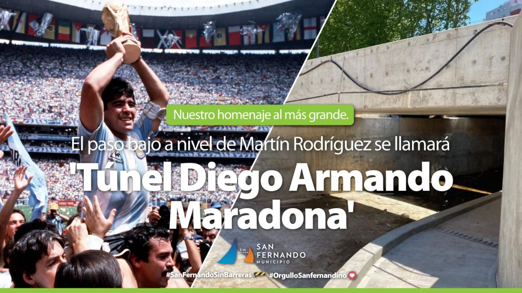 "Túnel ""Diego Armando Maradona"""