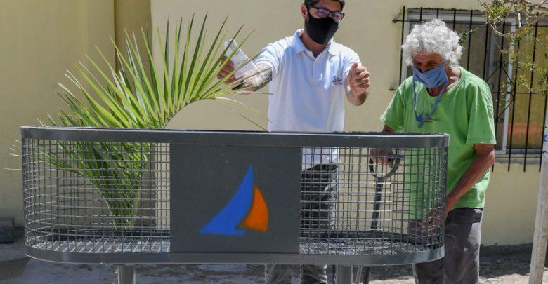 El Municipio colocó cestos de basura en Virreyes Oeste
