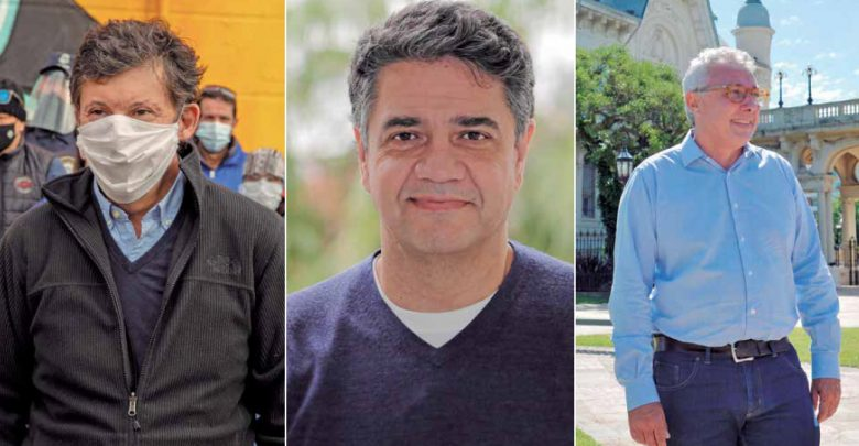 Posse, Macri y Zamora