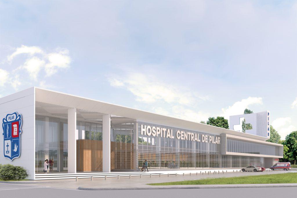 Render Hospital Central de Pilar
