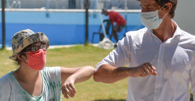 Juan Andreotti visitó el inicio de las Colonias de Verano