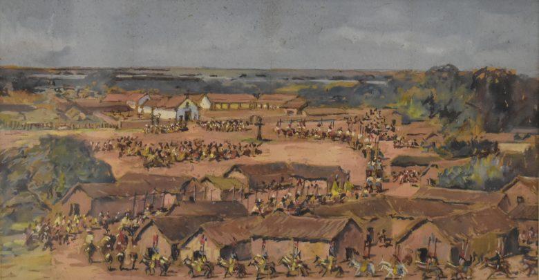 Algunas de las obras donadas por el coleccionista Carlos Franck
