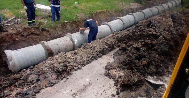 Nueva obra hidráulica en General Pacheco