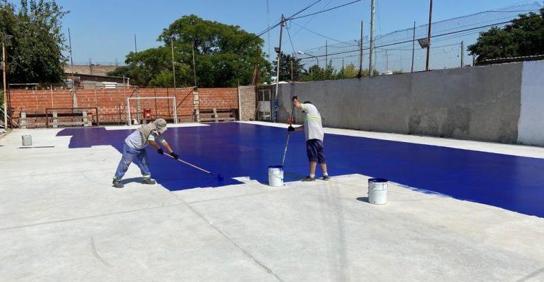 Renovación de la cancha de fútbol del Club Social y Deportivo El Embrujo