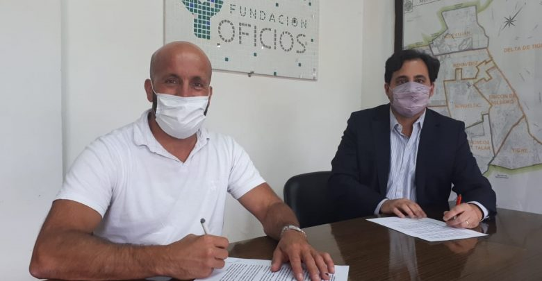 Naturgy firma del convenio con Fundación Oficios