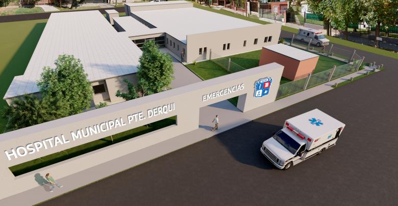 Ampliación del Hospital Presidente Derqui