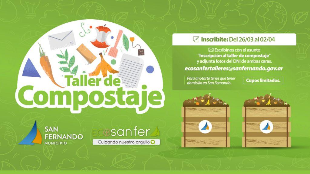 Taller de compostaje San Fernando