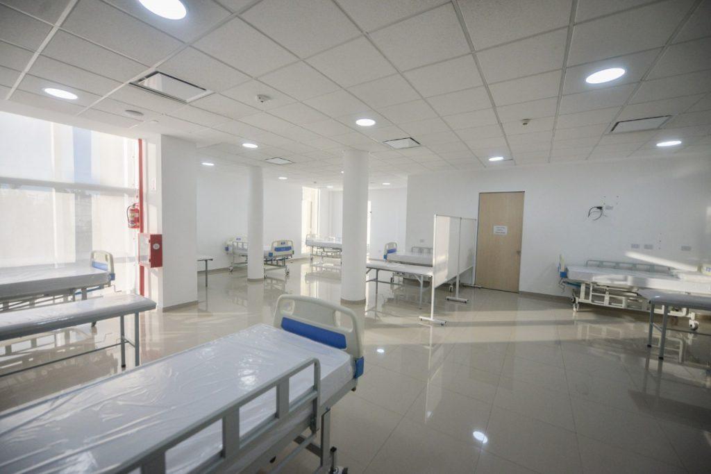 Ampliación de camas de terapia en el Hospital Municipal de San Fernando