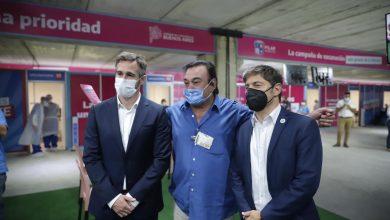 Inauguración del nuevo vacunatorio KM 46