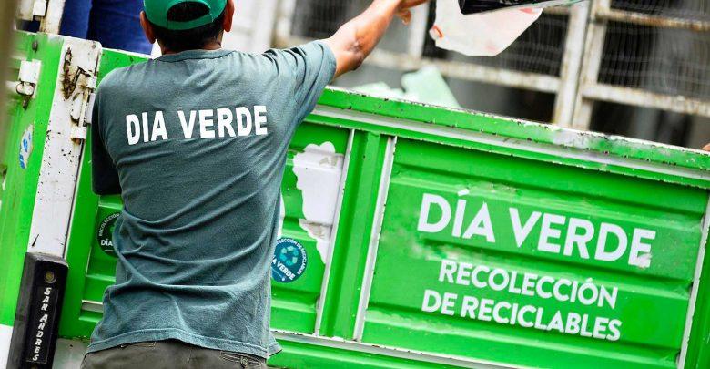 Funcionamiento de los servicios de recolección y Día Verde durante los feriados
