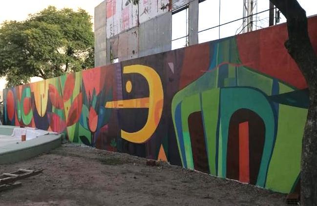 """Mural """"Aproximaciones"""""""