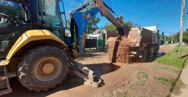 Trabajos de mantenimiento del espacio público y estabilizado de calles