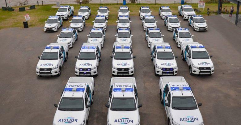 27 móviles 0km para la policía de San Fernando