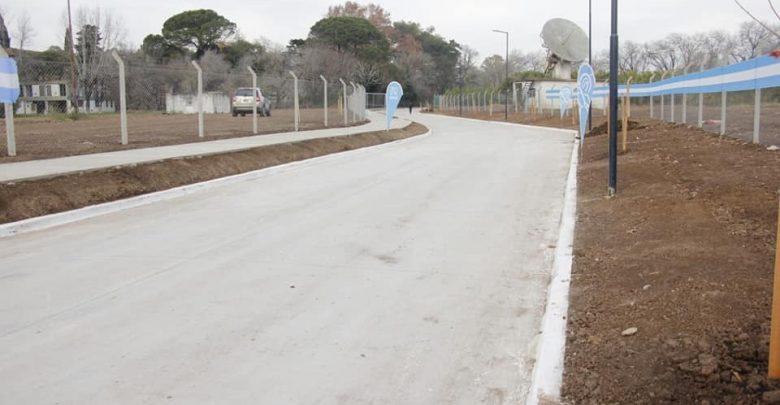El nuevo pavimento de la calle España