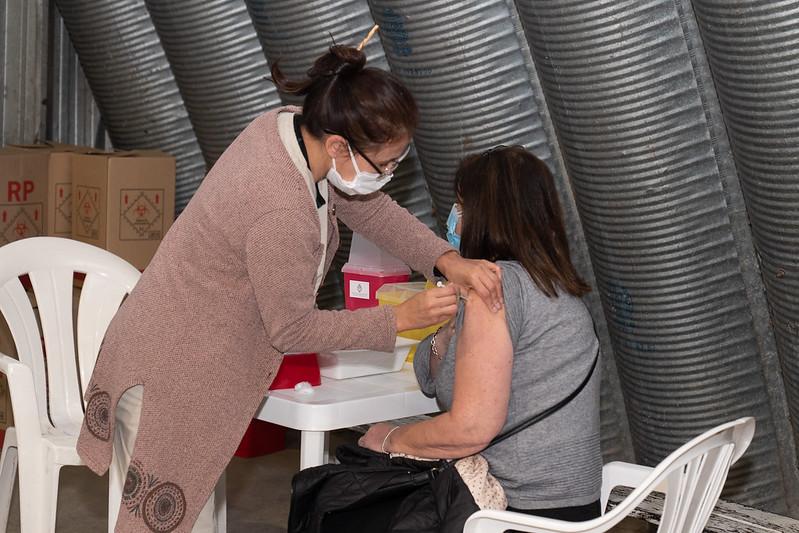 Vacunación Covid San Isidro