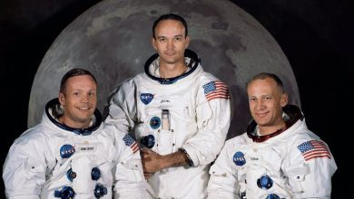 Neil Armstrong Buzz Aldrin y Michael Collins
