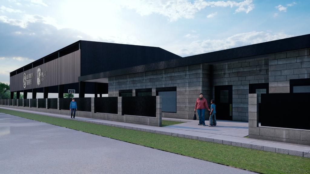 Render club municipal en San Alejo