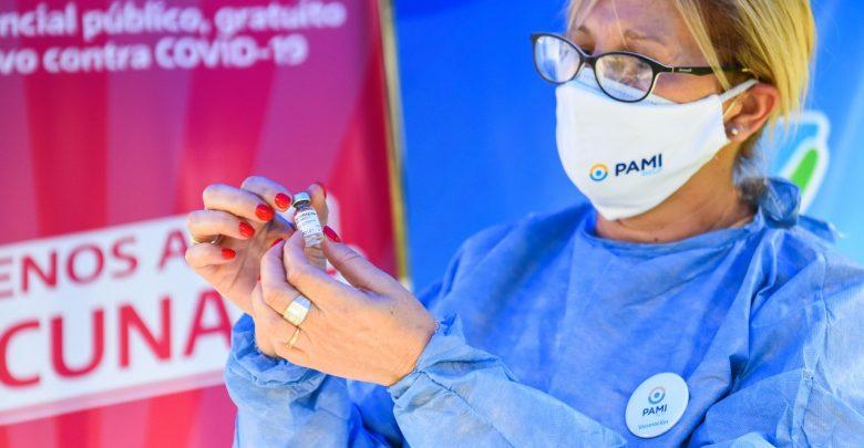 Operativo vacunación PAMI