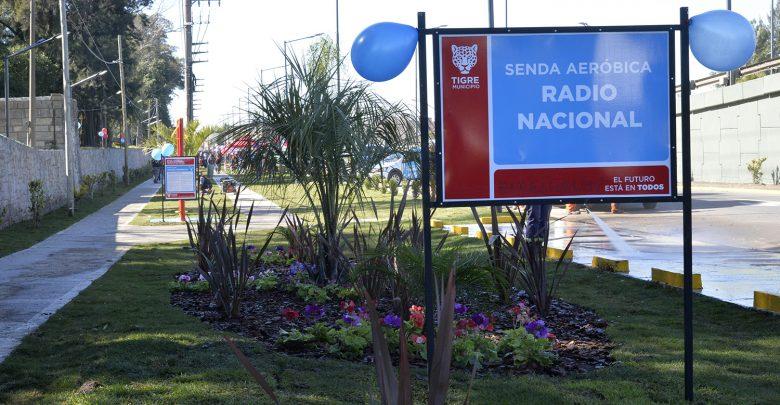 "Senda aeróbica ""Radio Nacional"""