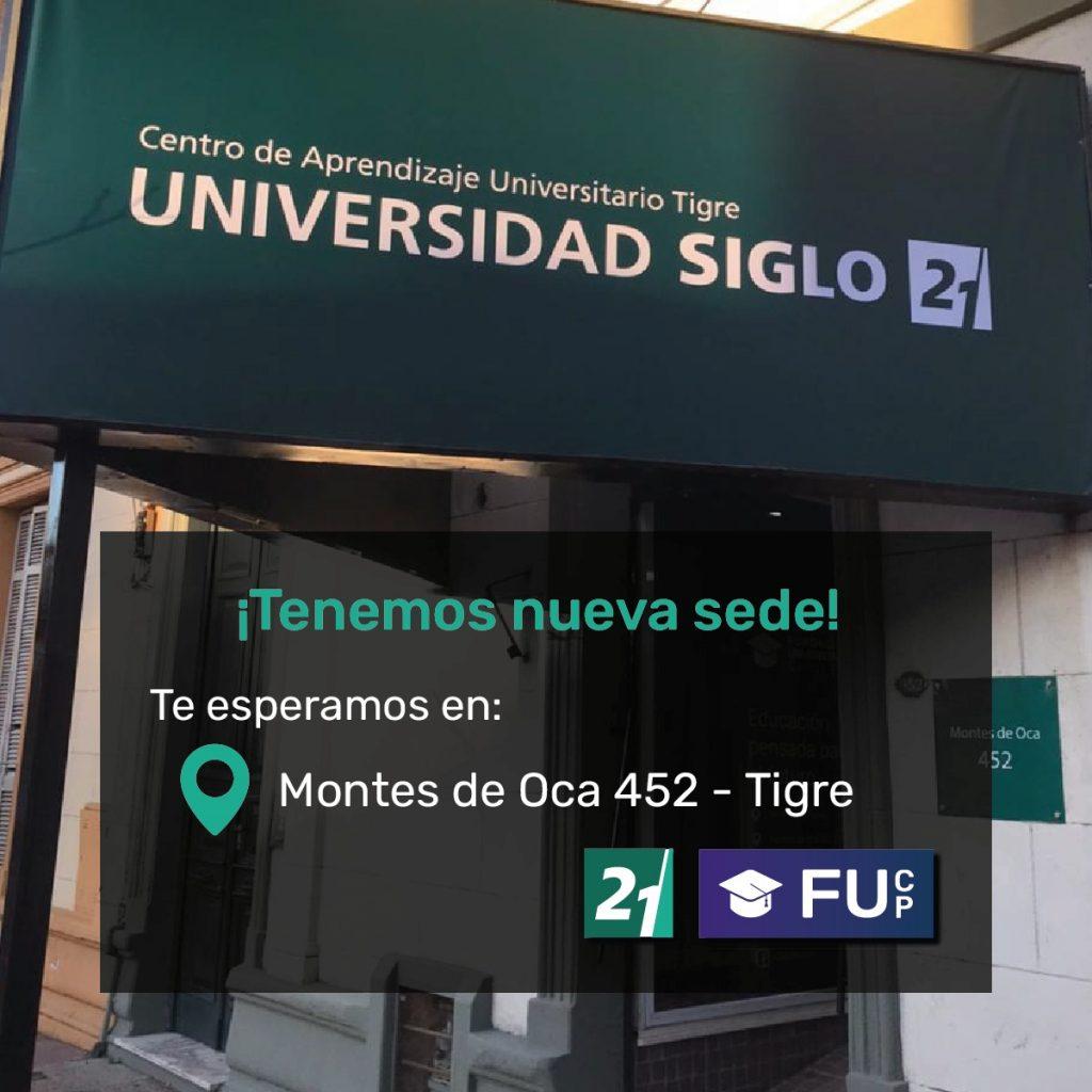 Universidad Siglo 21, sede Tigre Centro