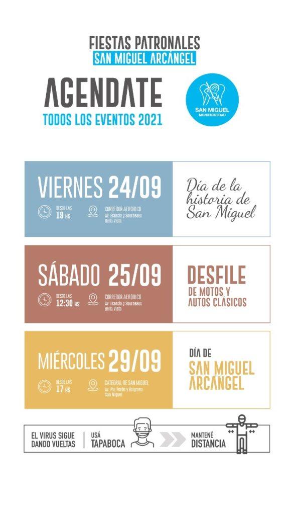 Fiestas patronales 2021