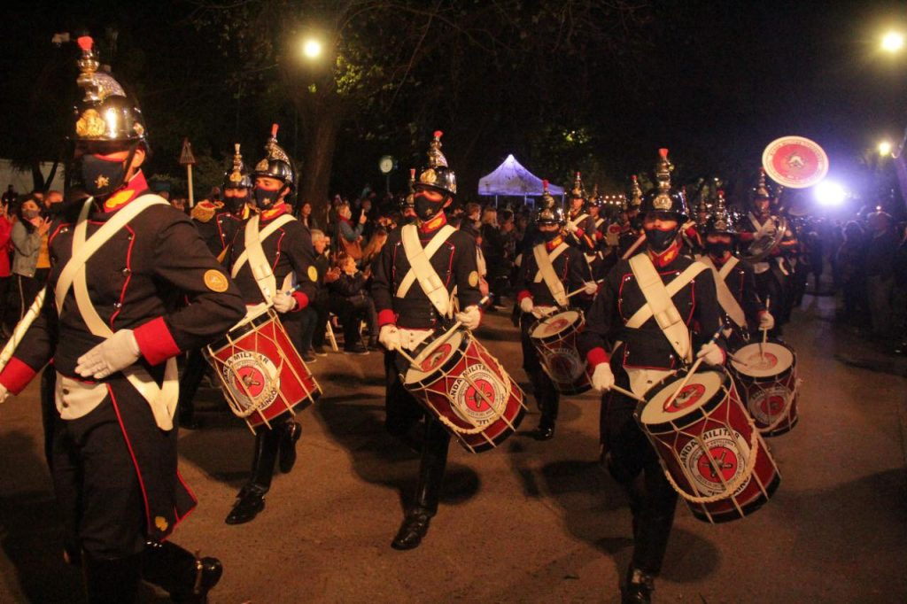 La banda militar Ituzaingó participó del evento