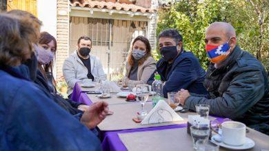 Los vecinos con Jorge Macri, Carolina Podlesker y Carlos Kambourian