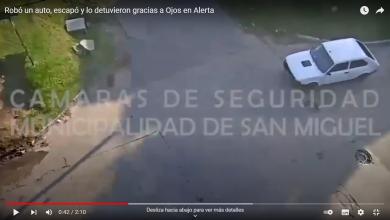 Robo de auto en San Miguel