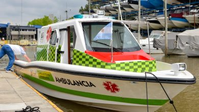 Nueva lancha ambulancia