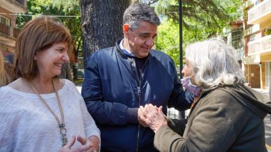 Jorge Mari y Patricia Bullrich