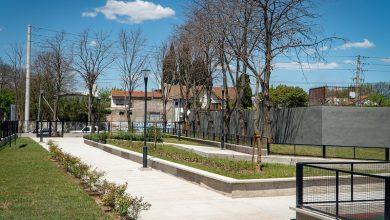 La nueva plaza en Beccar